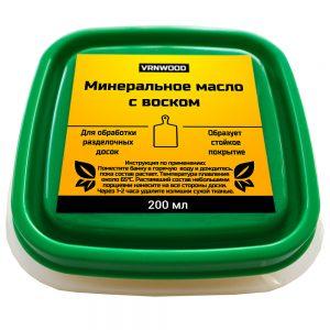 Минеральное масло с воском 200 мл закрытое