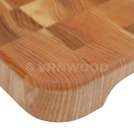 Торцевая разделочная из ясеня 20×30 см, фото 3