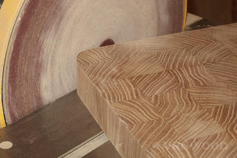 Скругление углов, обработка боковых поверхностей на тарельчато-шлифовальном станке